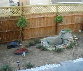 Fence Installation & Water Fountain Installation 6