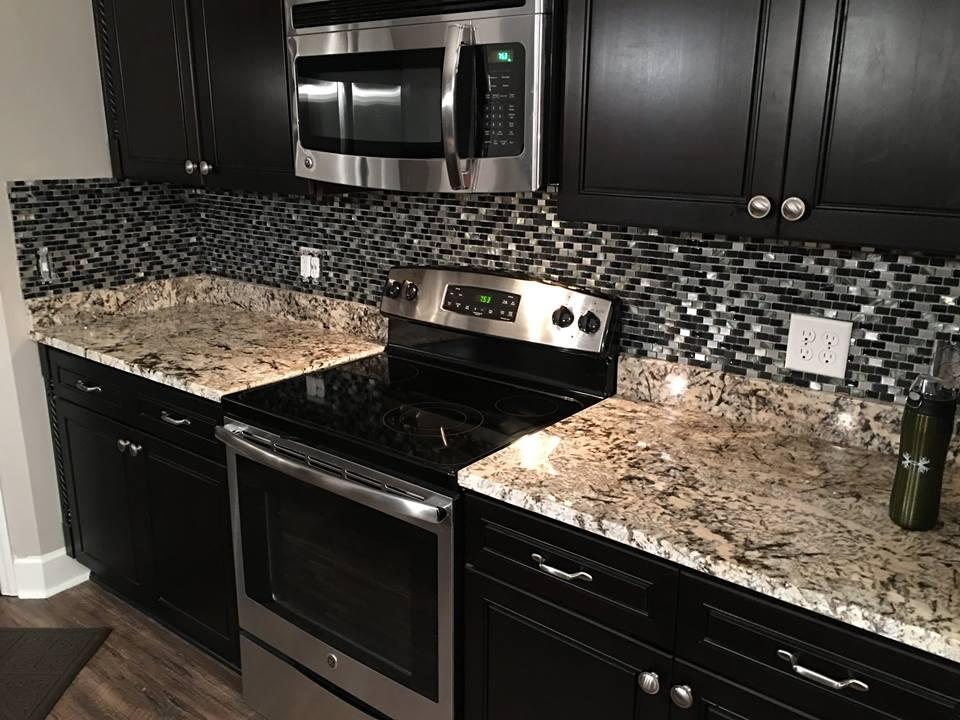 Kitchen Backsplash Installation 2
