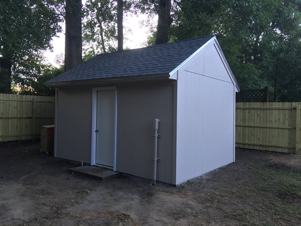 Shed and Fence Construction 4