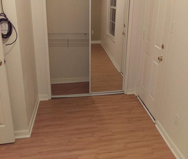 Vinyl plank flooring Installation 4